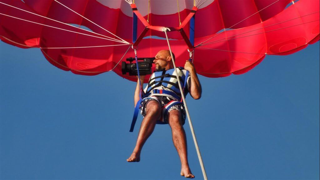 Activities I Parasailing by Princess Funda Yacht I Discover the breathtaking view