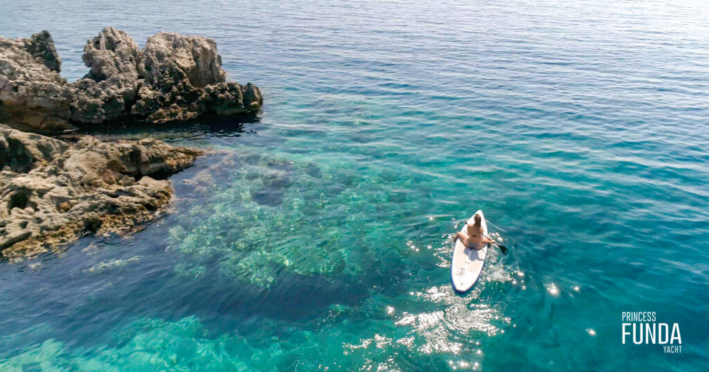 Activities I Paddling by Luxury Princess Funda Yacht I Explore the beauty of southern Turkey