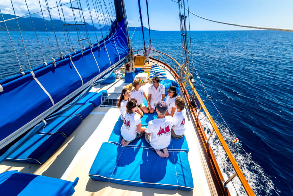 Luxury Princess Funda I A Privat crewed Yacht charter for your Seminar