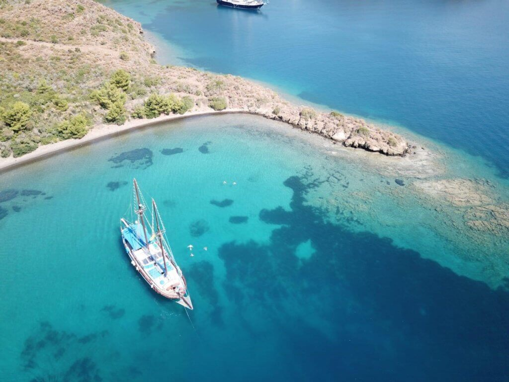 Princess Funda Yacht I Discover breathtaking landscapes of southern Aegean Turkey
