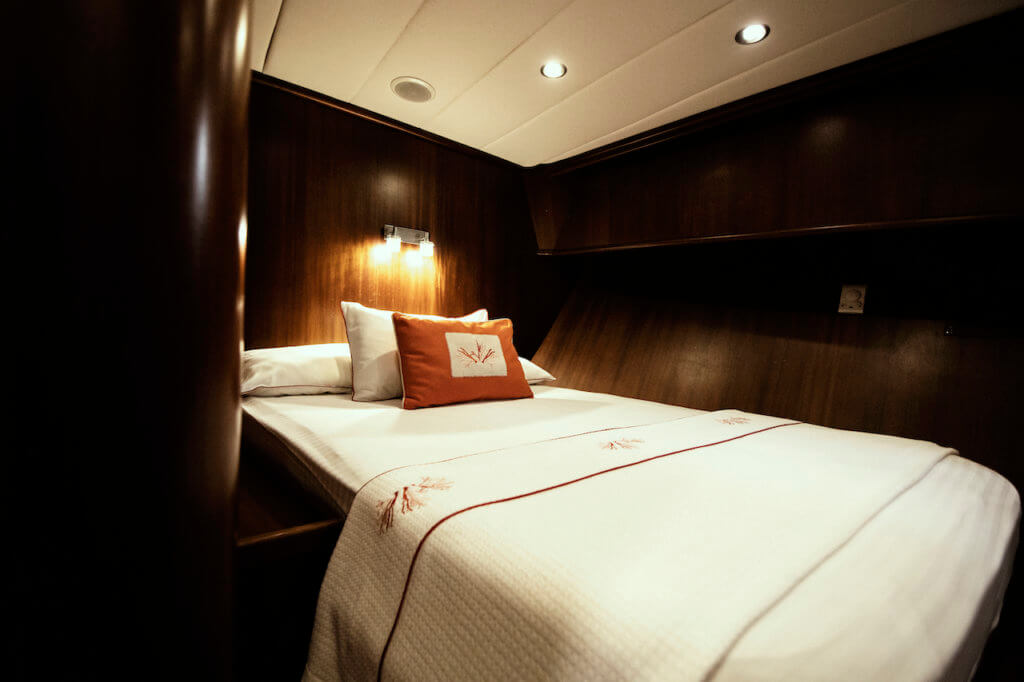 Princess Funda Yacht I Comfortably Double Cabin with ensuite facilities