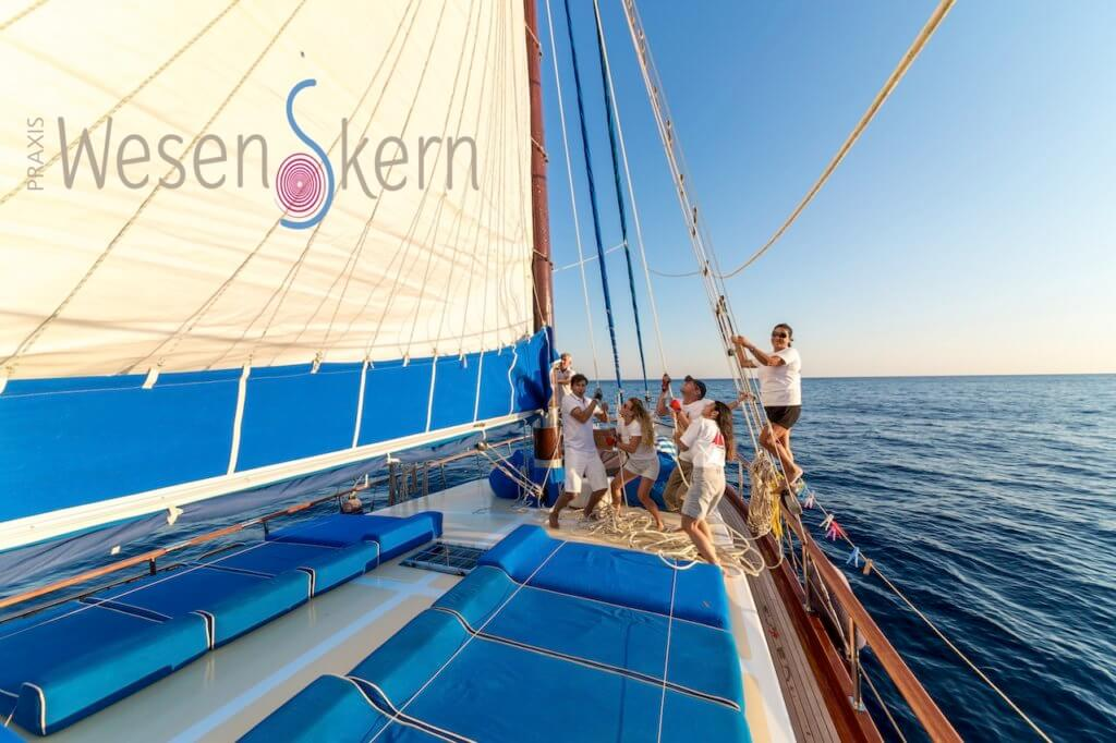 Sailing on a board of tailor made cruise with Princess Funda Yacht