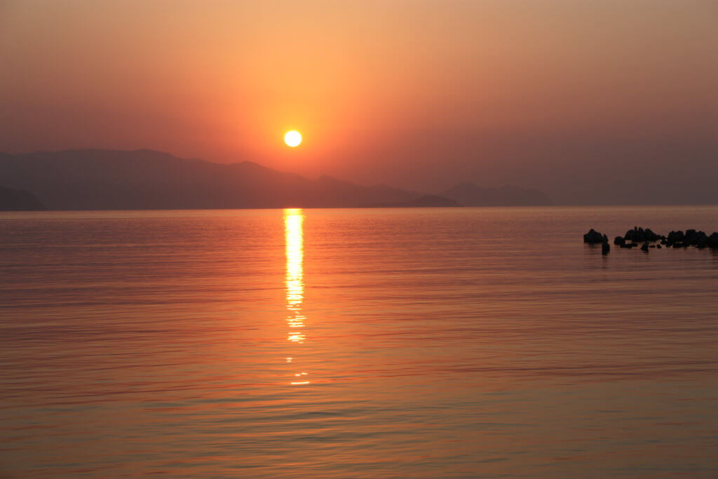 Sunset by exclusive Princess Funda Gulet Yacht Marmaris