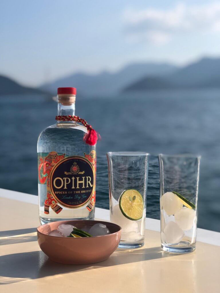Have a cold Drink aboard Luxury Princess Funda Yacht Marmaris I Turkey