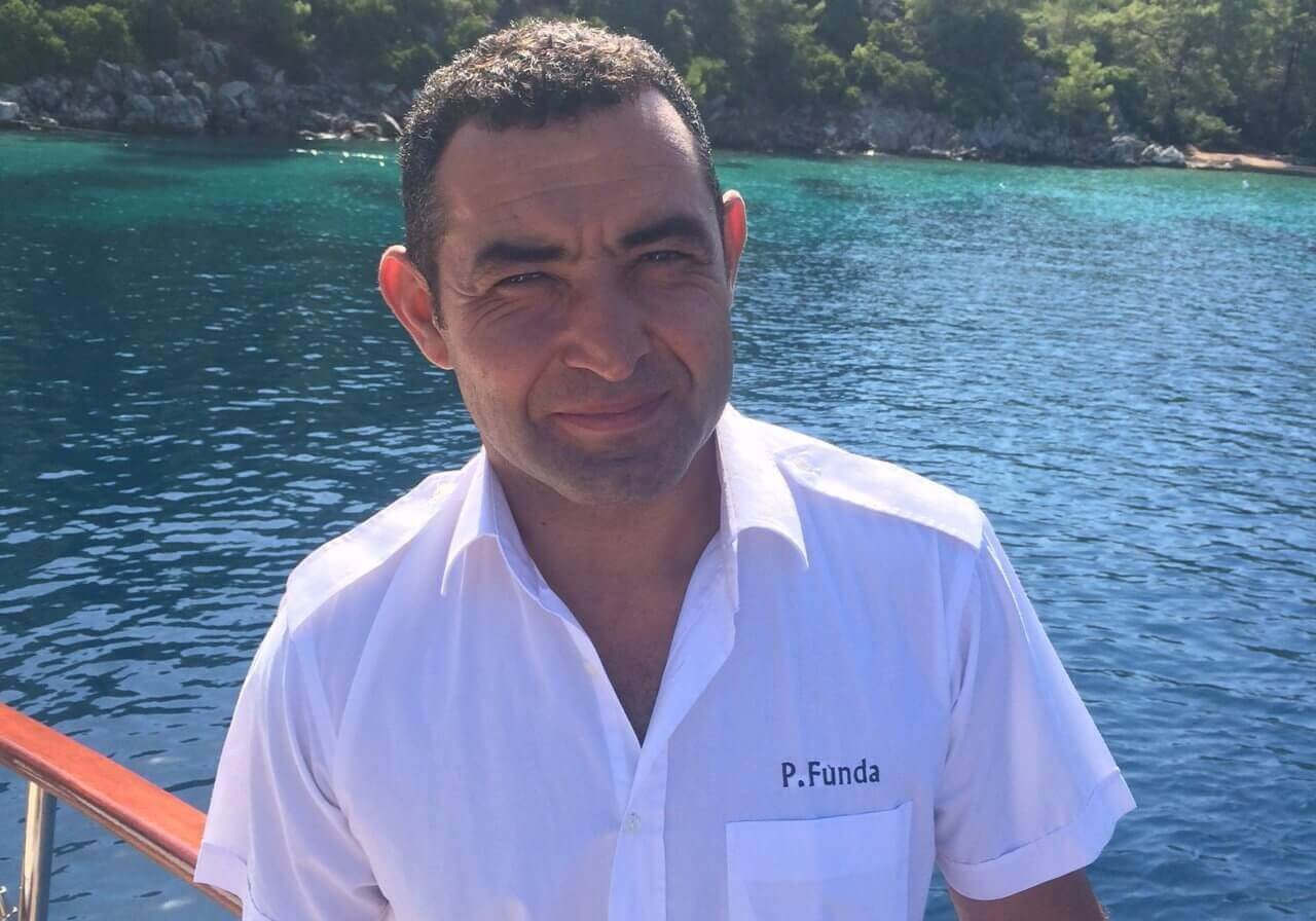 Erkan Chef de Cuisine I Team of Exclusive Yacht Princess Funda